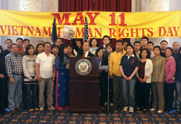"Chairman Wang, Jun attended ""The 15th Annual Commemoration of Human Right's day"" in US Congress"
